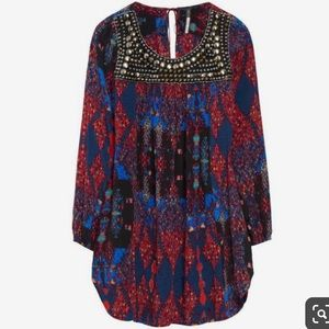 Plenty by Tracy Reese Beaded Yoke Tunic